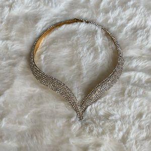 Serpent Diamond Necklace